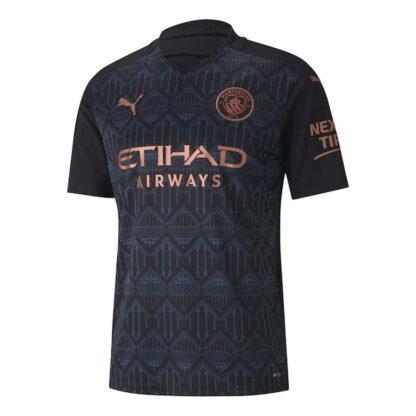 2020-2021 Manchester City Puma Away Football Shirt