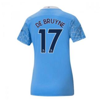 2020-2021 Manchester City Puma Home Ladies Shirt (DE BRUYNE 17)