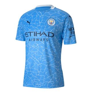 2020-2021 Manchester City Puma Home Football Shirt