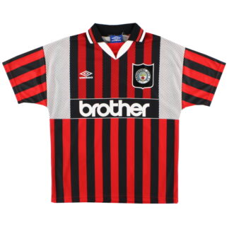 1994-96 Manchester City Away Shirt *Mint* L