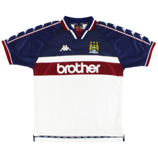 1997-98 Manchester City Kappa Away Shirt XL