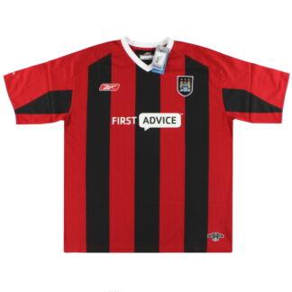 2003-04 Manchester City Reebok Away Shirt *w/tags* XL