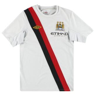 2009-11 Manchester City Umbro Third Shirt S