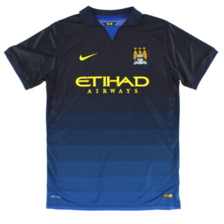 2014-15 Manchester City 'Authentic' Away Shirt *Mint* XL