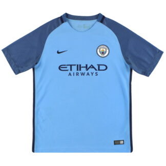 2016-17 Manchester City Nike Home Shirt XL.Boys