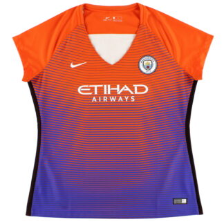 2016-17 Manchester City Third Shirt Womens *Mint* XL