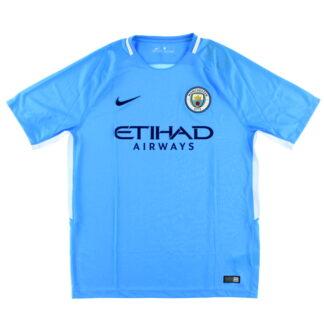 2017-18 Manchester City Home Shirt *w/tags* XL.Boys