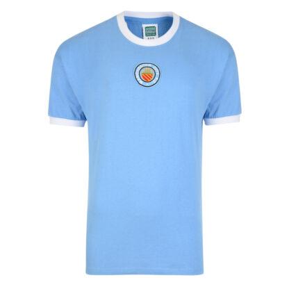 Manchester City 1970 No8 Retro Football Shirt