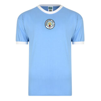 Manchester City 1972 Retro Football Shirt