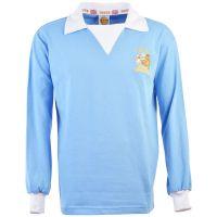 Manchester City 1976 FL Cup Final Retro Football Shirt