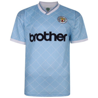 Manchester City 1988 Retro Football Shirt