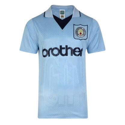 Manchester City 1996 Retro Football Shirt
