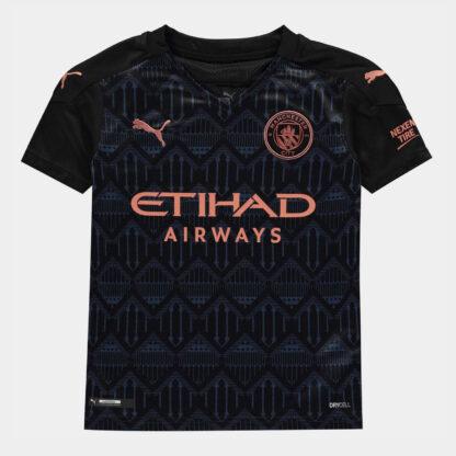 Manchester City Away Shirt 20/21 Junior