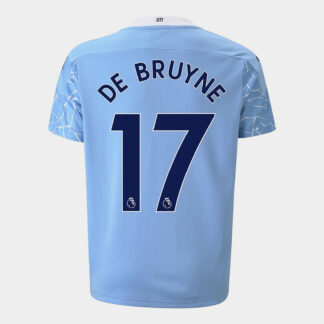Manchester City Kevin de Bruyne Home Shirt 20/21 Kids