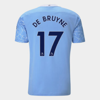 Manchester City Kevin de Bruyne Home Shirt 20/21 Mens