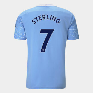 Manchester City Raheem Sterling Home Shirt 20/21 Mens