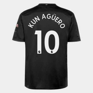Manchester City Sergio Aguero Away Shirt 20/21 Mens