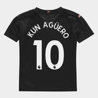 Manchester City Sergio Aguero Away Shirt 20/21 Kids