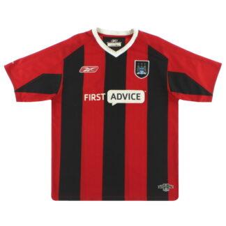 2003-04 Manchester City Reebok Away Shirt XL